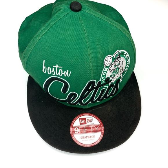 eb3a1e364a6bff New Era Accessories | Boston Celtics Hat 9fifty Snapback Ml | Poshmark